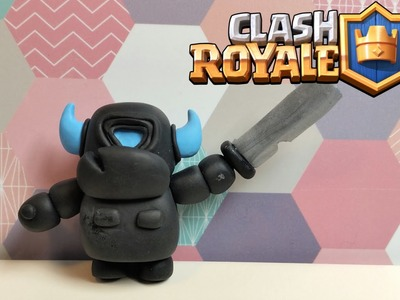 DIY Clash Royale Mini P.E.K.K.A. - Polymer clay tutorial