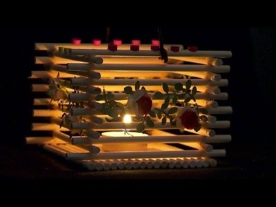 DIY - Craft Ideas Lamp Using Popsicle Stick - Craft For Kid