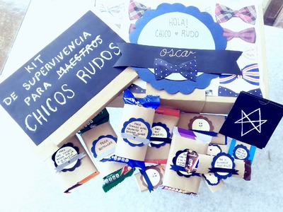 DIY ♡ KIT DE SUPERVIVENCIA  ♡ Regalo comestible ♡