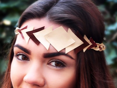 DIY Leather Hair Band