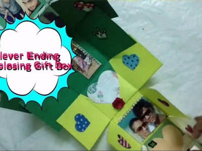 DIY Never Ending Photo Gift Box Making Idea | Exploding Gift Box |CraftLas