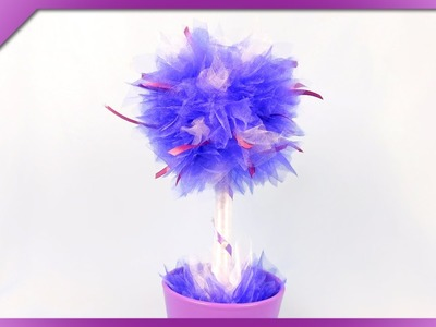 DIY Organza tree for Mother's Day (ENG Subtitles) - Speed up #216