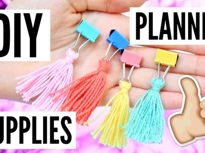 DIY Planner Hacks + Supplies!