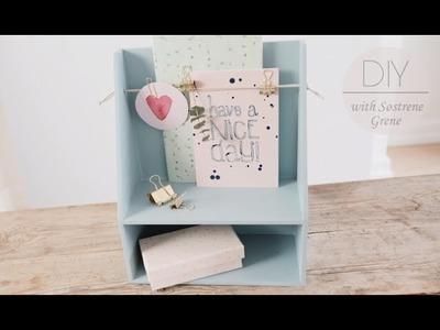 DIY: Shelf hack by Søstrene Grene