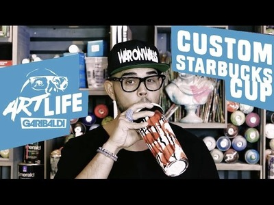 DIY Starbucks Cup | Art Life Garibaldi