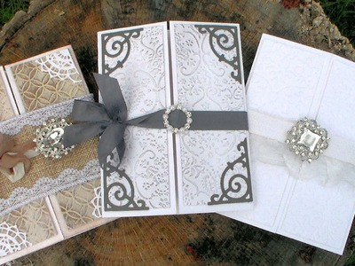 DIY Wedding Invitations. Beginner Friendly. Helpful Tips!