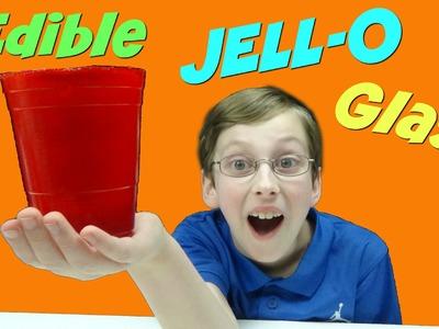 How To Make Edible Jello Glasses - DIY Gummy Cups | CollinTV