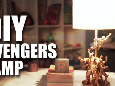 Mad Stuff With Rob - DIY | Avengers Lamp