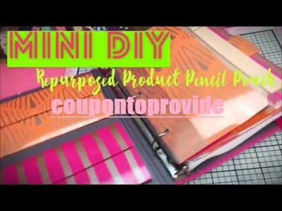 Target Dollar Spot Binder DIY | Pencil Pouch | Full Binder Tutorial Linked Below