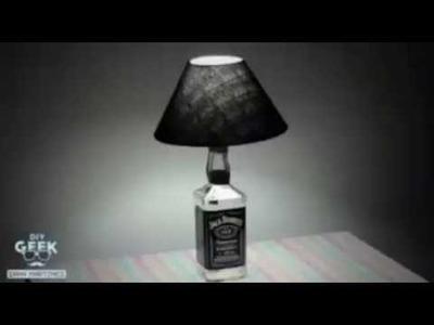 Abajur Jack Daniel's - DiY Geek