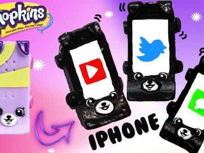 Custom Shopkins Season 5 iPhone Katie Skateboard Petkins DIY Custom Paint | Toy Caboodle