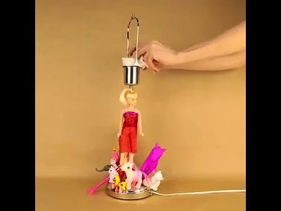 DIY action lamp for girls   5 Minute Crafts