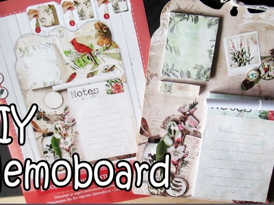 DIY ACTION MEMOBOARD REVIEW EN KNUTSEL MEE