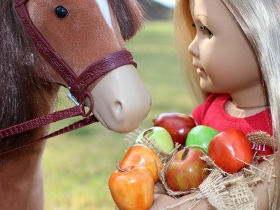 DIY American Girl Doll Horse Treats