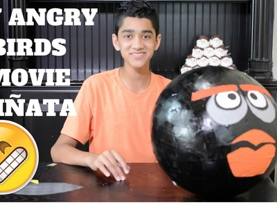 DIY ANGRY BIRDS MOVIE PIÑATA