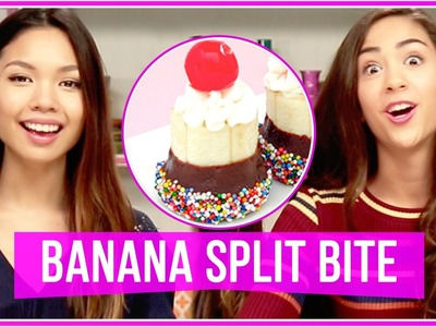 DIY Banana Split Bites! Let's Get Snacking!
