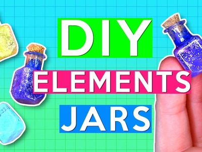 DIY Elements Jars | PINTRY