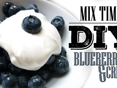DIY eLiquid Recipe | MIX TIME | BLUEBERRIES AND CREAM | Max VG