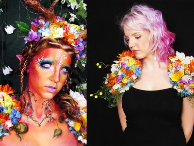 DIY Flower Shoulder Piece | Forest Spirit