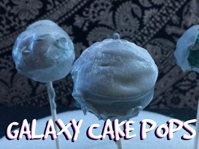 DIY Galaxy Cake Pops FAIL