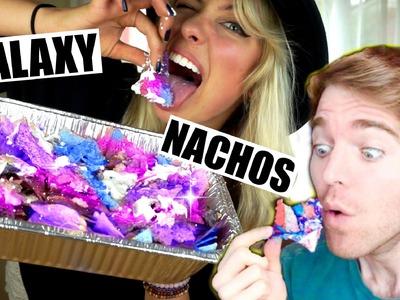 DIY GALAXY VEGAN NACHOS | Shane Dawson Remake | #veganized