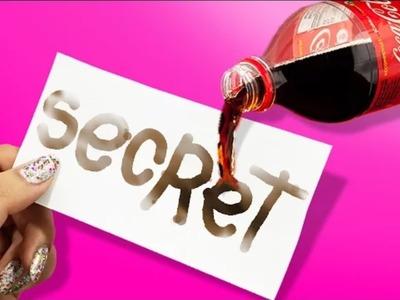 DIY GEHEIMSTIFT aus COCA COLA ❤️ SECRET PEN out COCA COLA