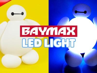 DIY Hello BAYMAX LED Lamp !! Disney Big Hero 6 BAYMAX LED Nightlight