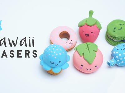 ✂ DIY Kawaii Erasers - Japanese Stationary