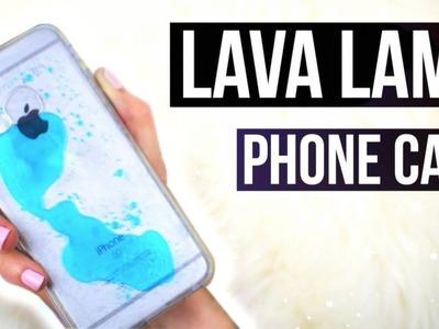 DIY PHONE CASE! LAVA LAMP Inspired!