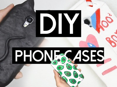 DIY PHONE CASES. Valfre Inspired + 3D Silicone Cases