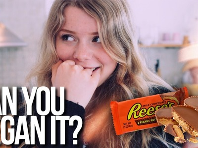 DIY REESE'S PEANUT BUTTER CUPS | Can You Vegan It?