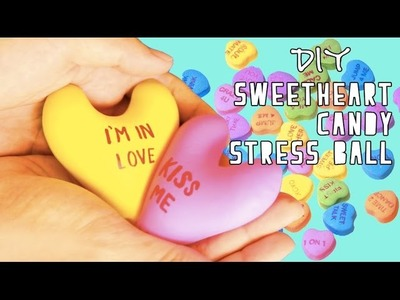 DIY Sweetheart Candy&Emoji Stress Ball.Squishy