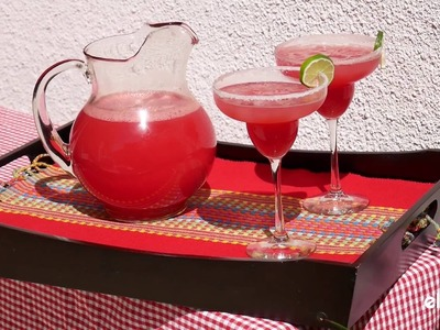 Easy DIY Watermelon Margaritas
