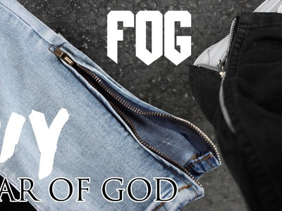 Fear Of God Zipper Jeans DIY