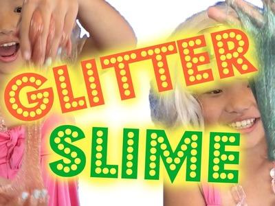 How to Make Glitter Slime | DIY Glitter Galaxy Slime