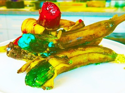 How to make Gummy Banana Jello Fun & Easy DIY!