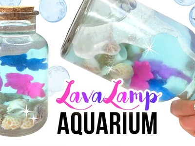 """Magic"" DIY Lava Lamp Aquarium!! Watch Your Fish GROW Inside the Liquid!!!"