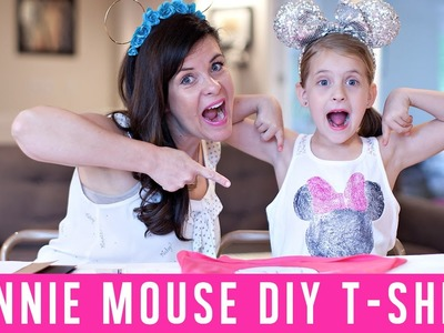 Minnie Mouse T-Shirt {Disney DIY}