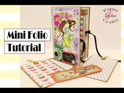 Tutorial Mini Folio - DIY SCRAPBOOK