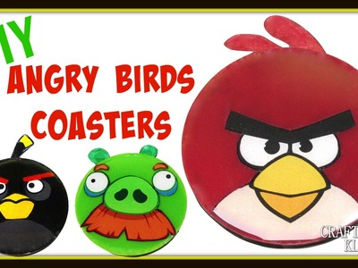 Angry Birds Coaster DIY ~ Another Coaster Friday ~ Craft Klatch How To