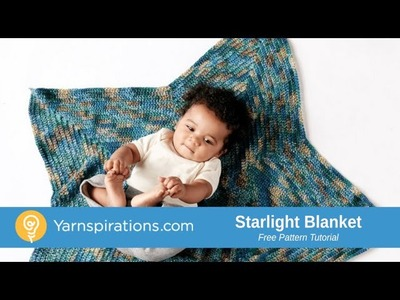 Crochet Starlight Baby Blanket