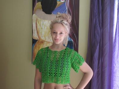 Crochet summer crop top Lima - with Ruby Stedman
