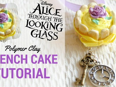 DIY Alice Through the Looking Glass Polymer Clay Cake TUTORIAL