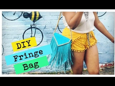 DIY Crossbody Fringe Bag