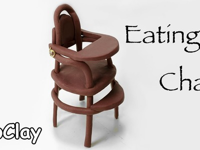 Diy dollhouse accessories vintage eating high chair - Dolls house furniture