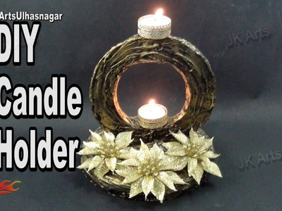 DIY  Mural Candle Holder |  How to make | JK Arts 962