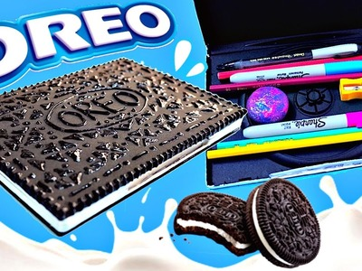 DIY OREO PENCIL CASE | EASY DIY School Supplies