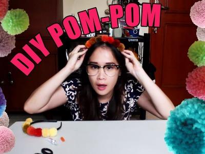 DIY POM-POM | BANDO BOLA WOL