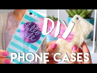 DIY Summer Phone Cases | Pinterest and Tumblr Inspired