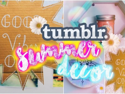 DIY Summer Wall Decor | Tumblr & Pinterest Inspired!